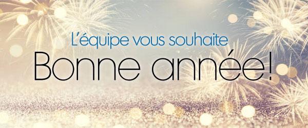 L'ÉQUIPE VOUS SOUHAITE BONNE ANNÉE !