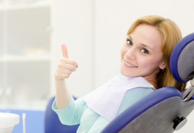 young girl in Prisma Dentists clinic